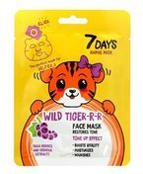 7Days maska do twarzy Wild Tiger-r-r 28g