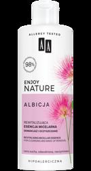 AA Enjoy Nature Albicja Rewitalizująca esencja micelarna demakijaż i oczyszczanie 400ml