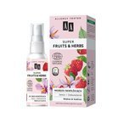 AA Super Fruits&Herbs Nawilżająca mgiełka malina/szafran 50ml
