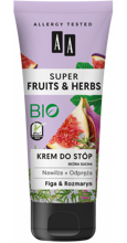AA Super Fruits&Herbs krem do stóp figa/rozmaryn 75ml