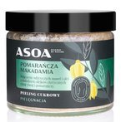ASOA peeling cukrowy Pomarańcza/Makadamia 250ml