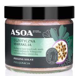 ASOA peeling solny Egzotyczna Marakuja 250ml