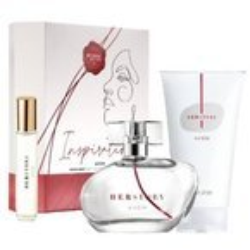 AVON Zestaw Inspiration perfumy 50ml+10ml + balsam 150ml