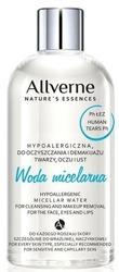 Allverne Nature Hypoallergic - Woda micelarna do oczyszczania twarzy i oczu 500ml