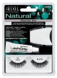 Ardell Natural Lashes Starter Kit Black 101 - Zestaw startowy do aplikacji sztucznych rzęs nr 101, czarne