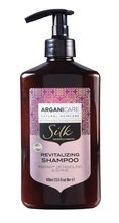 ArganiCare Hair Shampoo SILK Szampon do włosów z jedwabiem 400ml