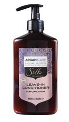 ArganiCare Leave-in Conditioner SILK Odżywka bez spłukiwania do włosów kręconych z jedwabiem 400ml