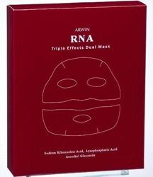 Arwin Biochem RNA triple effects dual mask Rewitalizująca maska do twarzy w płachcie