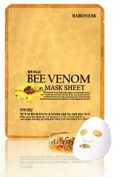 BARONESS Bee Venom Mask Sheet maseczka do twarzy z jadem pszczelim