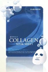 BARONESS Collagen Mask Sheet maseczka do twarzy kolagenowa