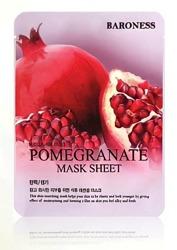 BARONESS Pomegranate Mask Sheet maseczka do twarzy z granatem