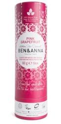 BEN&ANNA Naturalny dezodorant w sztyfcie PINK GRAPEFRUIT 60g