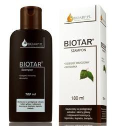 BIOARPIL Biotar Szampon z ekstraktem biosiarki i dziegcia brzozowego 180ml