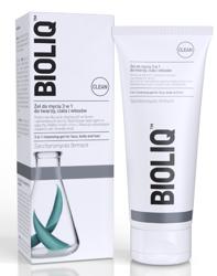 BIOLIQ Clean Żel 3w1 do mycia twarzy, ciała i włosów 180ml