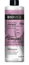 BIOMEA Szampon ultra regenerujący do włosów suchych i zniszczonych 400ml