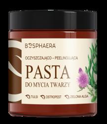 BOSPHAERA Oczyszczająco-peelingująca pasta do mycia twarzy 100g