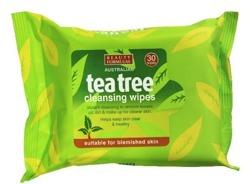 Beauty Formulas Tea Tree Chusteczki oczyszczające 30 sztuk