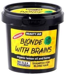 Beauty Jar Szampon przeciw wypadaniu włosów Blonde With Brain 150g