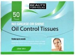 BeautyFormulas Oil Control Tissues Bibułki matujące 50szt
