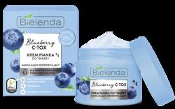 Bielenda Blueberry C-TOX Nawilżająco-rozświetlający krem pianka do twarzy 40g