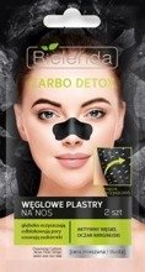Bielenda Carbo Detox Węglowe plastry na nos 2szt.