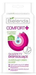 Bielenda Comfort+  Skarpety eksfoliujące - Złuszczający zabieg do stóp 2x20ml