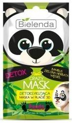 Bielenda Crazy Maska w płacie 3D detoksykująca PANDA