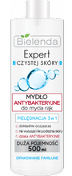 Bielenda Expert czystej skóry Mydło Antybakteryjne 3w1 500ml
