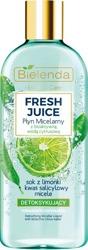 Bielenda FRESH JUICE Detoksykujący płyn micelarny Limonka 500ml