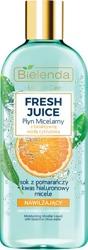 Bielenda FRESH JUICE Nawilżający płyn micelarny Pomarańcza 500ml