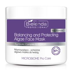 Bielenda Professional Microbiome Pro Care Równoważąco-ochronna algowa maska do twarzy 160g