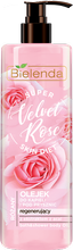 Bielenda Super Skin Diet Velvet Rose Regenerujący olejek do kąpieli i pod prysznic Róża 400ml
