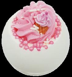 Bomb Cosmetics Musująca kula do kąpieli Ice Cream Queen 160g