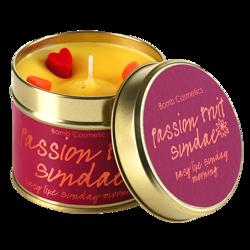 Bomb Cosmetics świeca zapachowa puszka Passion Fruit Sundae