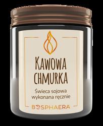 Bosphaera świeca sojowa KAWOWA CHMURKA 190g