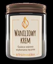 Bosphaera świeca sojowa WANILIOWY KREM 190g