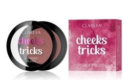 CLARESA CHEEKS TRICKS Prasowany róż do policzków 06 LURE 4g