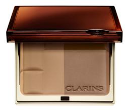 CLARINS Bronzing Duo Powder Puder brązujący w kompakcie 02 Medium 10g