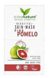 COSNATURE Naturalna upiększająca maska do twarzy z różowym pomelo 2x8ml