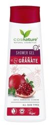 COSNATURE Naturalny odżywczy żel pod prysznic z owocem granatu 250ml