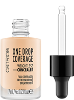 Catrice One Drop Coverage Płynny korektor kryjący 003 Porcelain 7ml