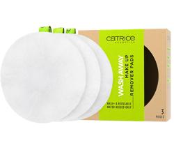 Catrice Wash Away Make Up Remover Pads płatki kosmetyczne wielokrotnego użytku 3szt.