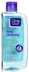 Clean&Clear Deep Cleansing Lotion oczyszczający tonik do twarzy  200ml