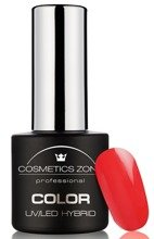 Cosmetics Zone Lakier hybrydowy N53 Red Madness 7ml