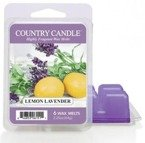 Country Candle 6 Wax Melts Wosk zapachowy -  Lemon Lavender