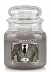 Country Candle Słoik średni Grey 453g