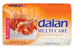 DALAN Multi Care mydło w kostce Honey&Milk 90g