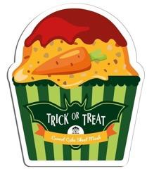 DR.MOLA TRICKorTREAT sheet mask Carrot Cake Rozjaśniająca maska w płachcie 23ml