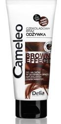 Delia CAMELEO BROWN EFFECT  Wzmacniająca odżywka z efektem pogłębienia koloru dla brunetek 200ml