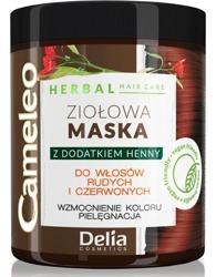 Delia Cameleo Ziołowa maska do włosów rudych i czerwonych 250ml